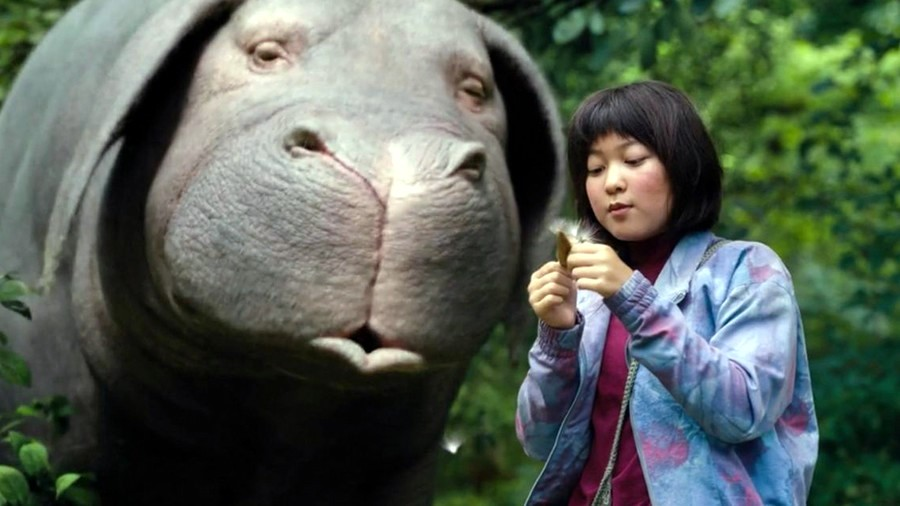 Okja was screened in New Zealand cinemas in 2017